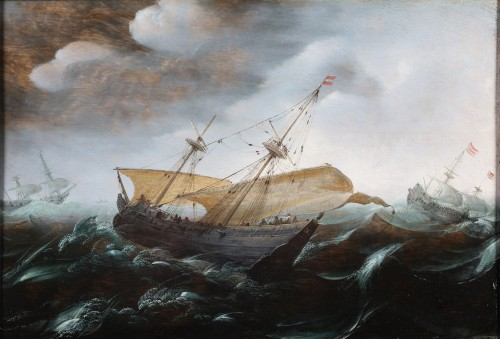Marine  Painting - Attributed to Aert. Anthonisz