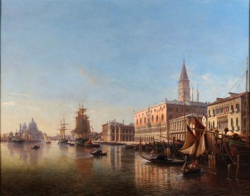 Venice - Julius Eduard Wilhelm Helfft (1818-1894)