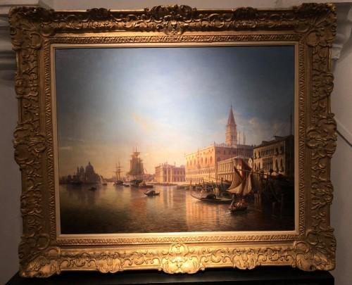 Venice - Julius Eduard Wilhelm Helfft (1818-1894) - Paintings & Drawings Style