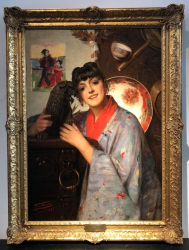 Léon Herbo (1850-1907) - The Chinese girl -