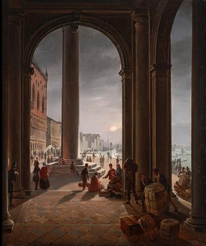 Frans Vervloet (1795-1872) - Venice