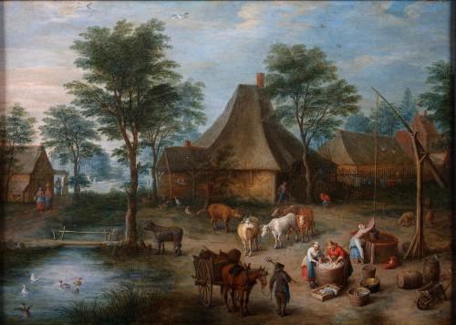 Josef Van Bredael (1688-1739 Paris)