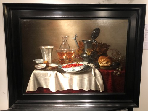 Adriaen Jansz Kraen (1619-1679) - ill life of a cup of silve - Paintings & Drawings Style