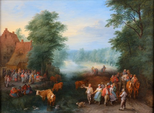 Théobald Michau (1676-1765) - The village feast