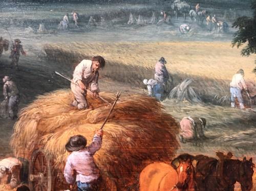 Antiquités - Théobald Michau (1676-1765) -  tThe harvest and The village feast