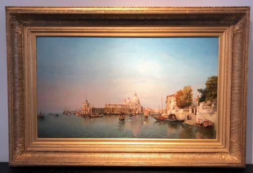 - Jean Baptiste Van Moer (1819-1884) - the Grand Canal in Venice