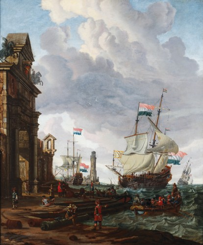 Abraham Storck (Amsterdam 1644-1708 Amsterdam)
