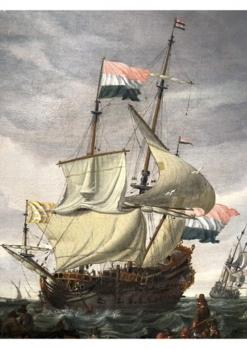 Paintings & Drawings  - Abraham Storck (Amsterdam 1644-1708 Amsterdam)