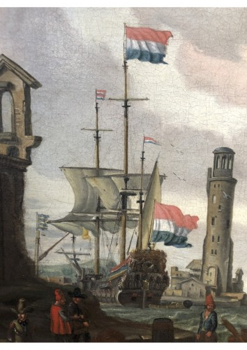 17th century - Abraham Storck (Amsterdam 1644-1708 Amsterdam)