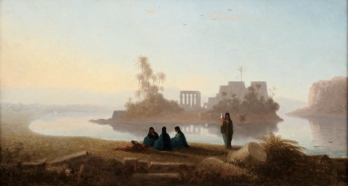 The temple of Philae - Charles Théodore Frère (1814-1888)