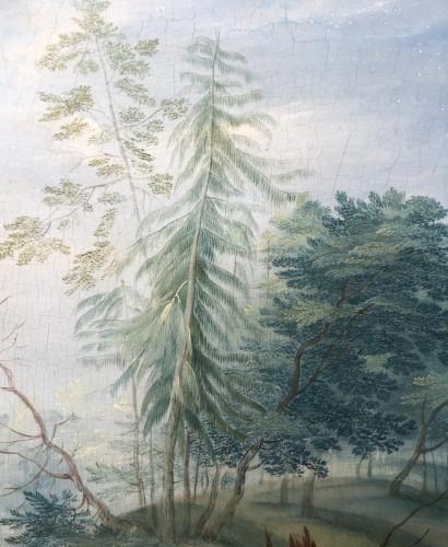 Landscape with figures - Jan frans van Bredael the Elder (Antwerp 1686-1750) -