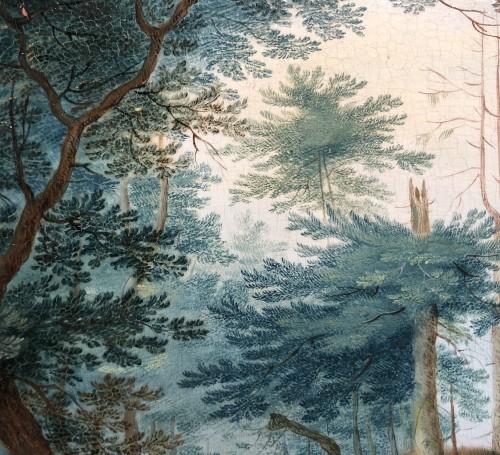 17th century - Landscape with figures - Jan frans van Bredael the Elder (Antwerp 1686-1750)