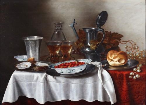 Still-life - Adriaen Jansz Kraen (1619-1679)