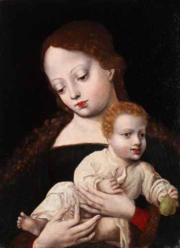 The virgin and Child - Flemish early 16th century