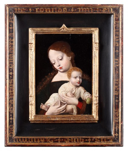 The virgin and Child - Flemish early 16th century - Paintings & Drawings Style