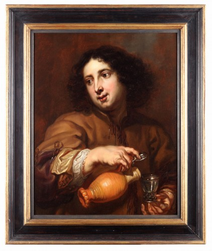 Jan Cossiers (1600-1671) - The sense of taste