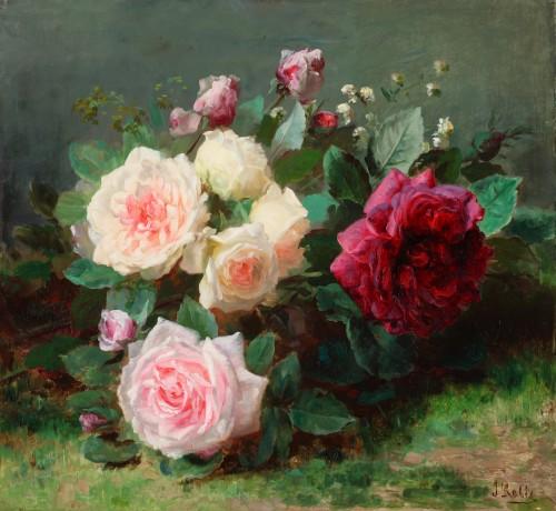 Roses - Jean Baptiste Robie (1821-1910)
