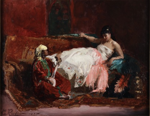 In the harem - Edouard Frédéric Wilhelm Richter (1844-1913)