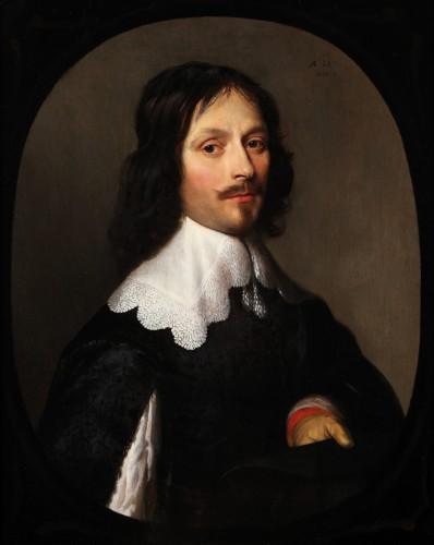 Portrait of a gentleman - Gerrit van Honthorst (1592-1656)