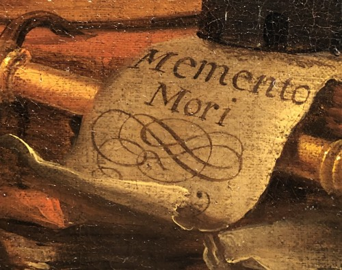 Antiquités - Vanitas still life - Vincent Laurensz van der Vinne (1628-1702)