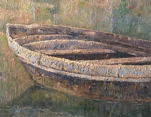 Paintings & Drawings  - Paul Leduc (1876-1943) - Soir provençal in Martigues
