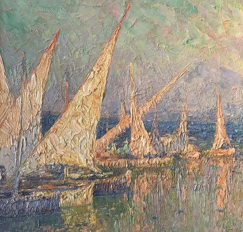 Paul Leduc (1876-1943) - Soir provençal in Martigues -
