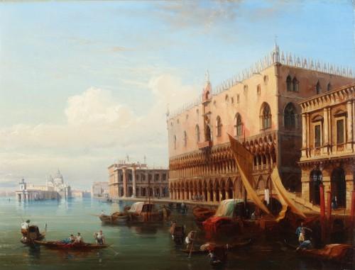 The palace of the Doges - Jules-Romain Joyant (1803-1854)