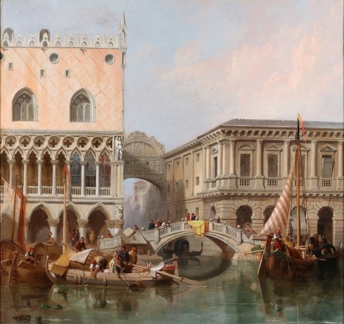 William Clarkson Stanfield (1793-1867) - View of venice