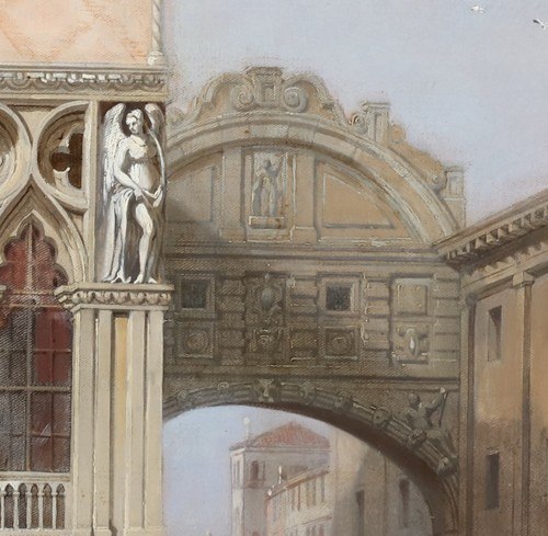 Paintings & Drawings  - William Clarkson Stanfield (1793-1867) - View of venice