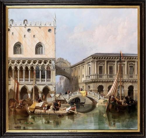 Antiquités - William Clarkson Stanfield (1793-1867) - View of venice