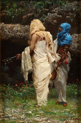 The Musicians  - J.Tapiro (1836-1913)