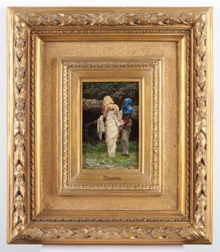 The Musicians  - J.Tapiro (1836-1913) - Paintings & Drawings Style