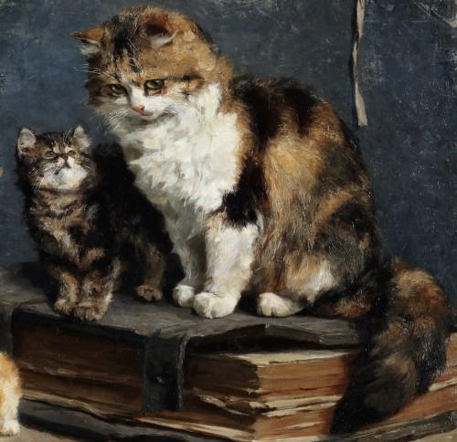 Motherhood - Charles van den Eycken (1859-1923) - Paintings & Drawings Style