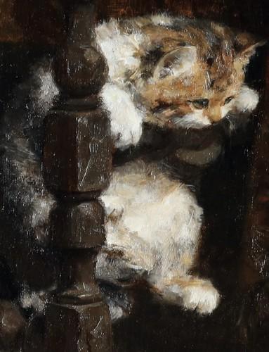 19th century - Motherhood - Charles van den Eycken (1859-1923)