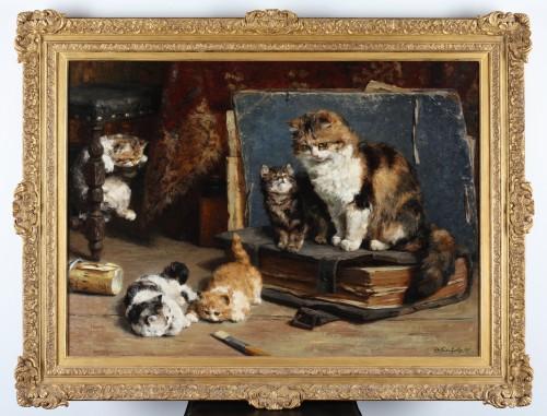 Motherhood - Charles van den Eycken (1859-1923) -