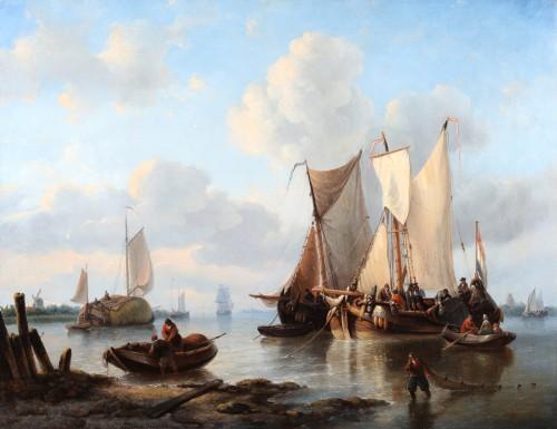 Georg Willem Opdenhoff (1807-1873) - marine view
