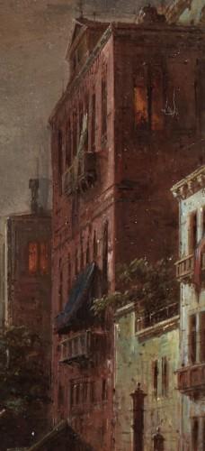 Ludwig Mecklenburg (1820-1882) - Venice at dusk -