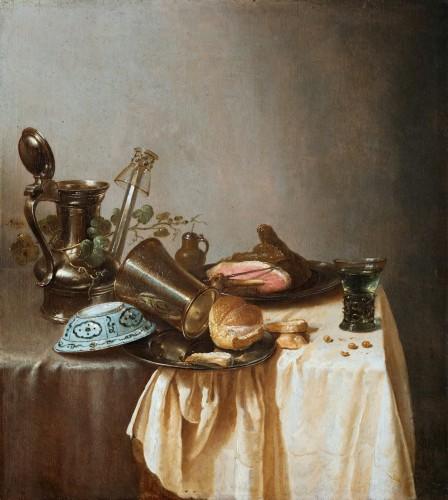 Adriaen Jansz Kraen (1619 Haarlem-1679) - Still life