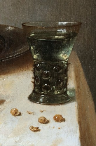 Paintings & Drawings  - Adriaen Jansz Kraen (1619 Haarlem-1679) - Still life