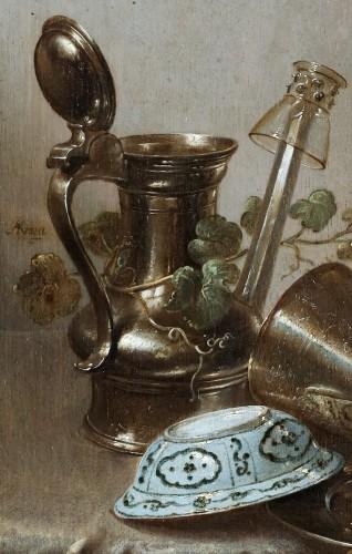 Adriaen Jansz Kraen (1619 Haarlem-1679) - Still life -