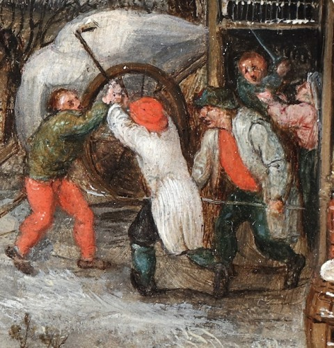 17th century - Pieter Brueghel II (Brussels 1564-1638 Antwerp)