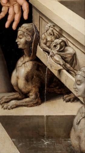 Jan Rombouts II (Leuven circa 1505-1559) - Paintings & Drawings Style