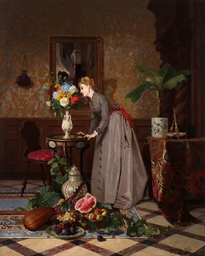 David de Noter (1818 Ghent-1892 Algiers)