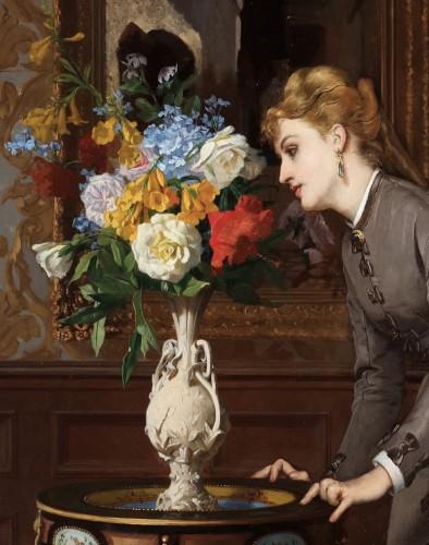 19th century - David de Noter (1818 Ghent-1892 Algiers)