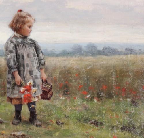 Paintings & Drawings  - César Pattein (1850 Steenvoorde- 1931 Hazebrouck)