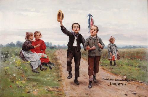 César Pattein (1850 Steenvoorde- 1931 Hazebrouck) -