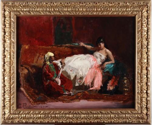 Antiquités - Edouard Frédéric Wilhelm Richter (1844-1913)
