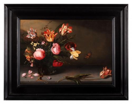 Paintings & Drawings  - Jacob Marrel (1614 - 1681) -Sstill life