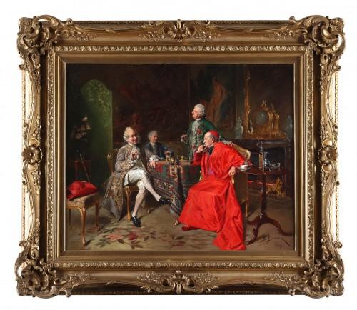 Francois Brunery (Turin 1849-Paris 1926) - Paintings & Drawings Style