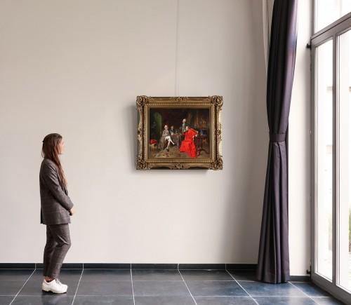 Paintings & Drawings  - Francois Brunery (Turin 1849-Paris 1926)
